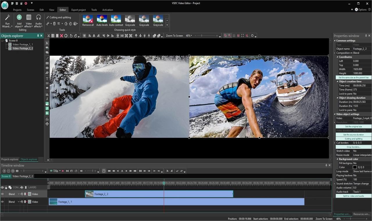 Audio video photo editing software free download